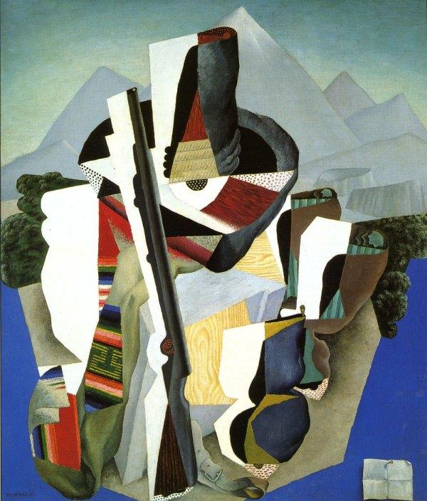 Diego Rivera Zapatista Landscape