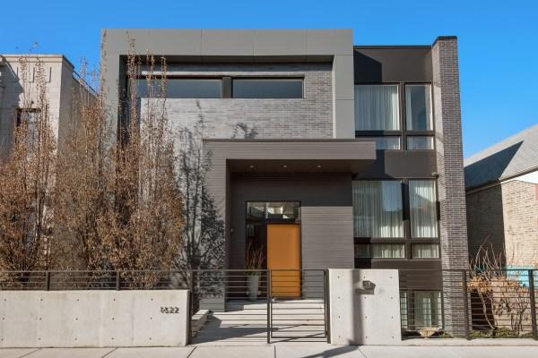 Contemporary Home In Bucktown 4.2m - Chicago Tribune