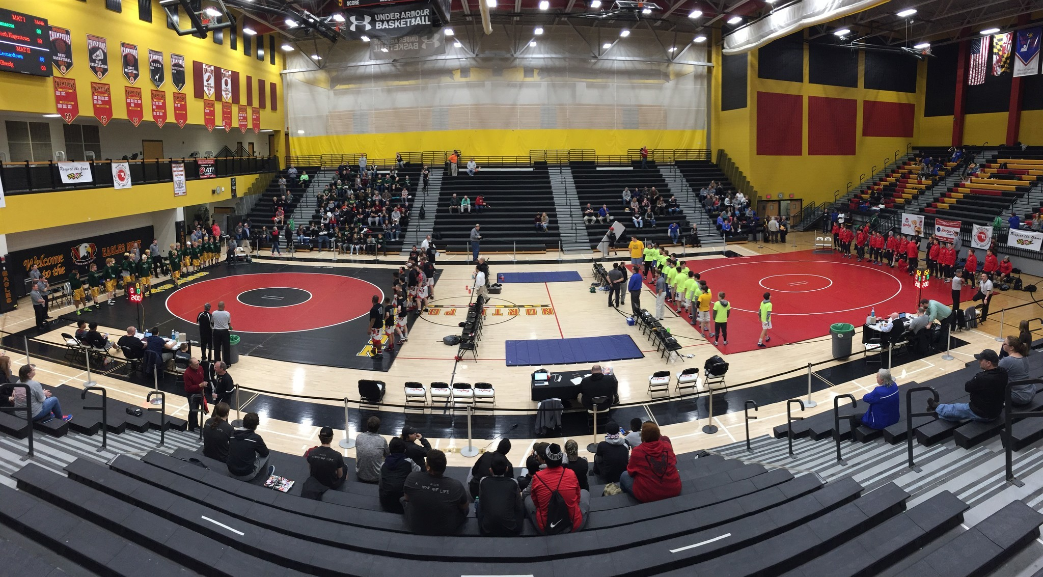 Glenelg Sparrows Point fall in state wrestling dual