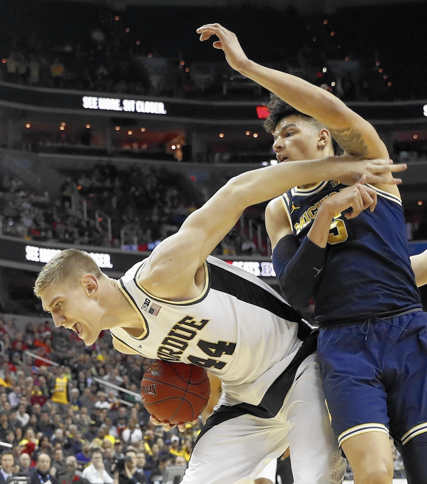 Michigan Ends Stressful Week With Strong Effort To Upset Purdue In Overtime  - Post-Tribune