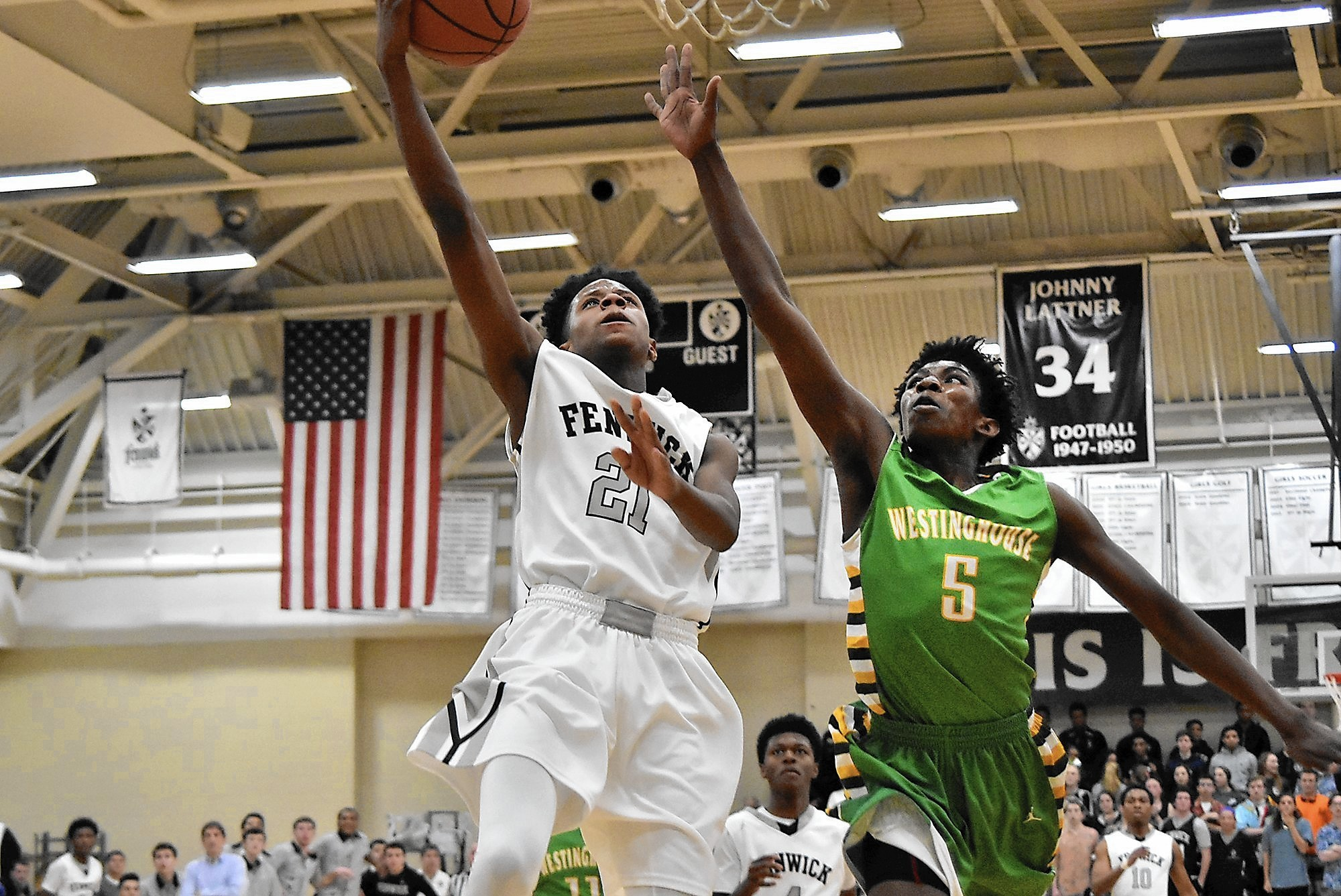 Freshman phenom DJ Steward emerges for Fenwick
