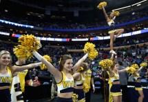 2017 West Virginia Basketball Cheerleaders