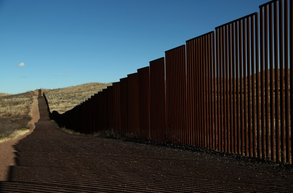 Pretty Much Trump' Border Wall Block