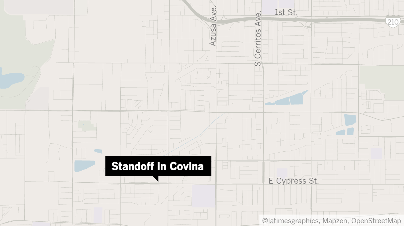 Gunman who fired on L.A. County sheriff's deputies in