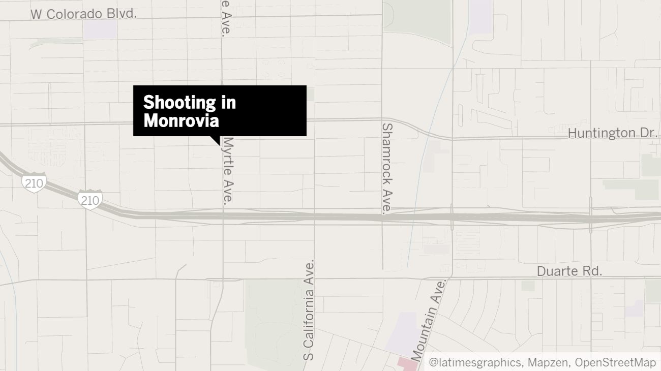 Monrovia shooting leaves man dead and juvenile injured