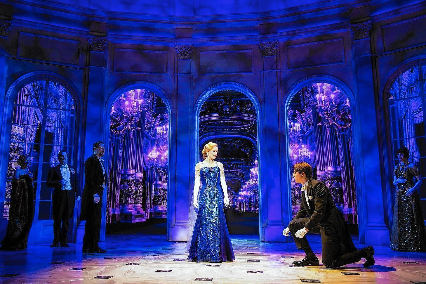 Tweaked Anastasia An Even Stronger Show On Broadway  Hartford Courant