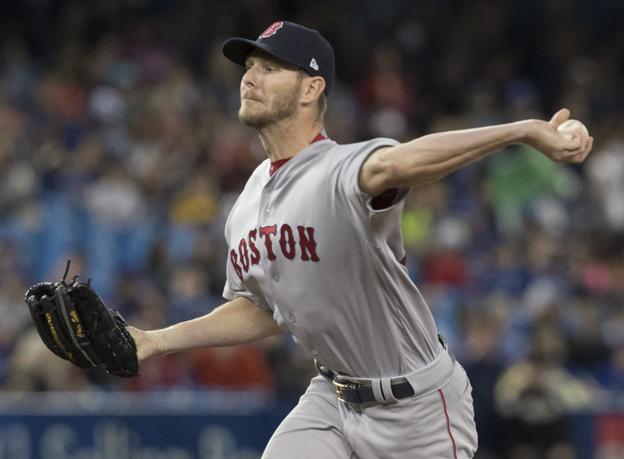 Former White Sox Ace Chris Sale Thriving In Boston As He