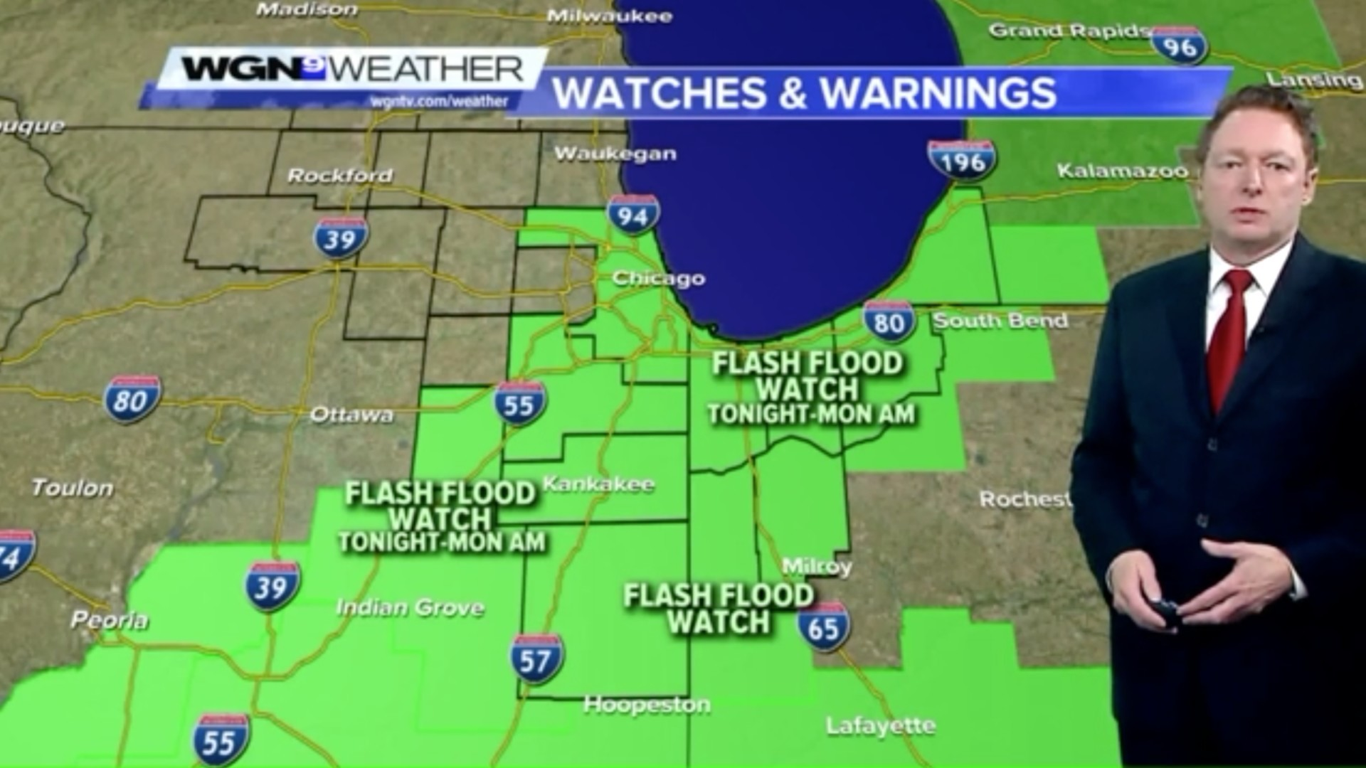 channel 9 weather forecast chicago