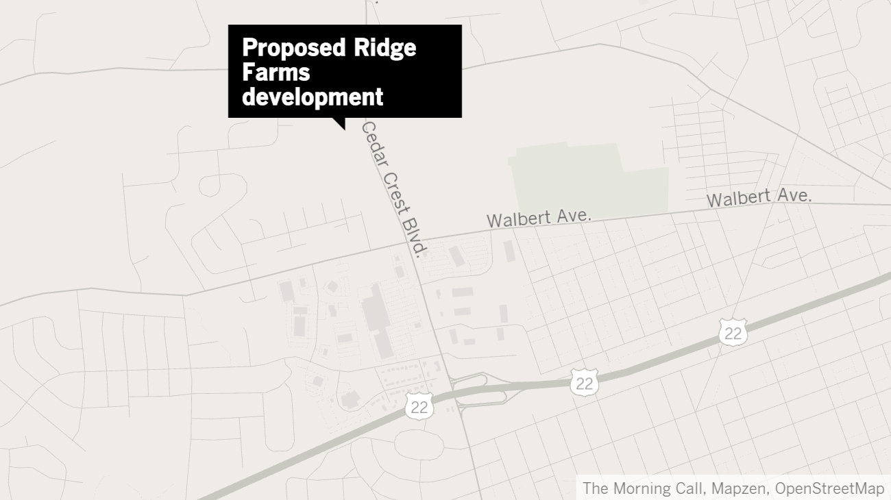 Massive mixed-use project proposed on Cedar Crest