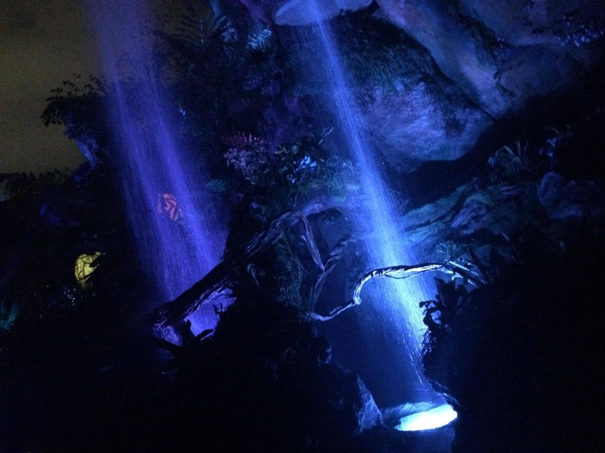 Pandora at night makes Disneys Avatar land magical