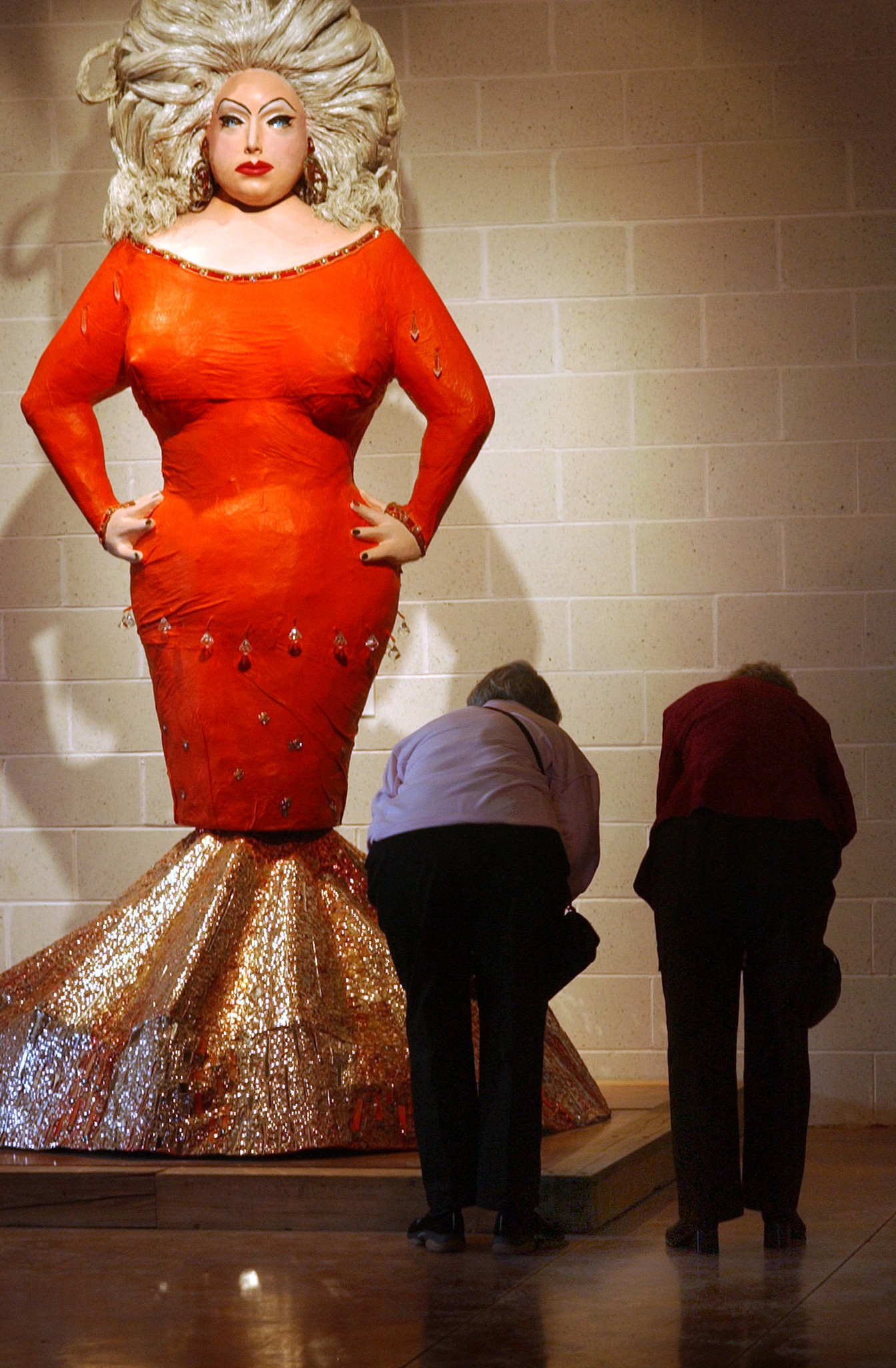 Statue of Divine gets a permanent home at the American Visionary Art Museum  Baltimore Sun