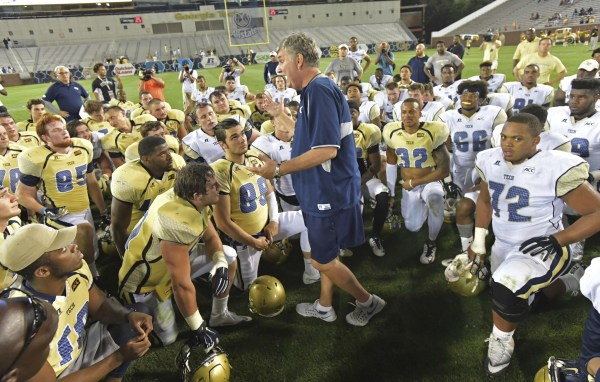 College Football Rankings Georgia Tech Yellow Jackets