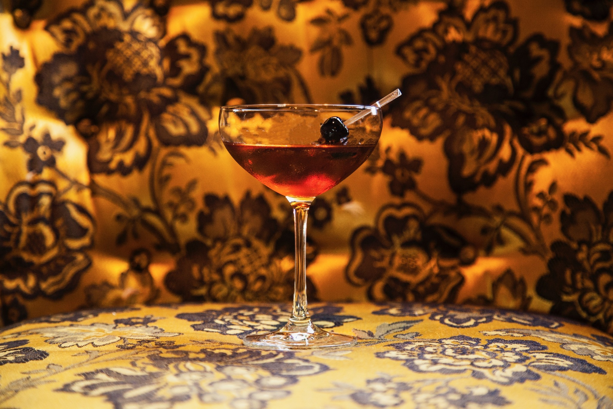 Drink this Black Manhattan at The Hive at Honeys  RedEye Chicago
