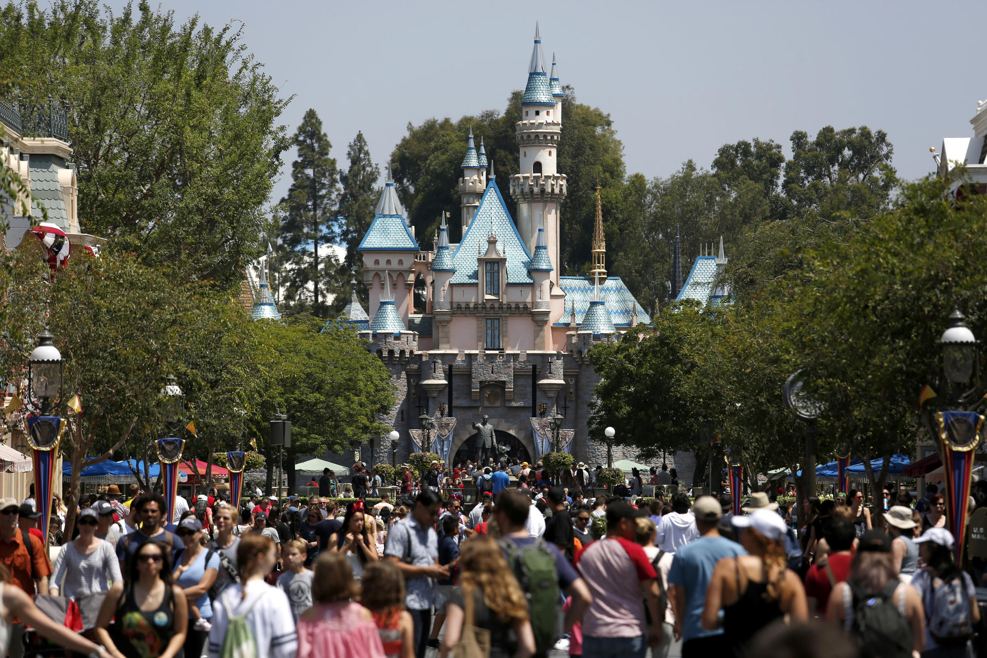is disney paying its share in anaheim