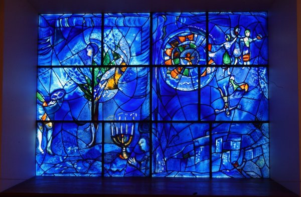 Marc Chagall America Windows