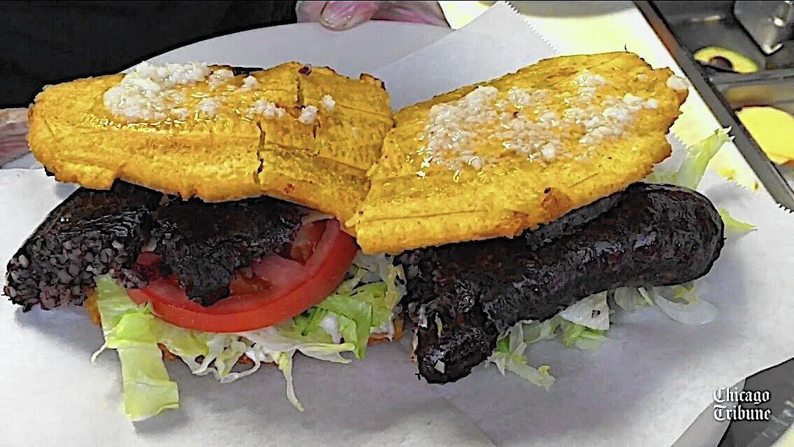 Why morcilla jibaritos with Puerto Rican blood sausage