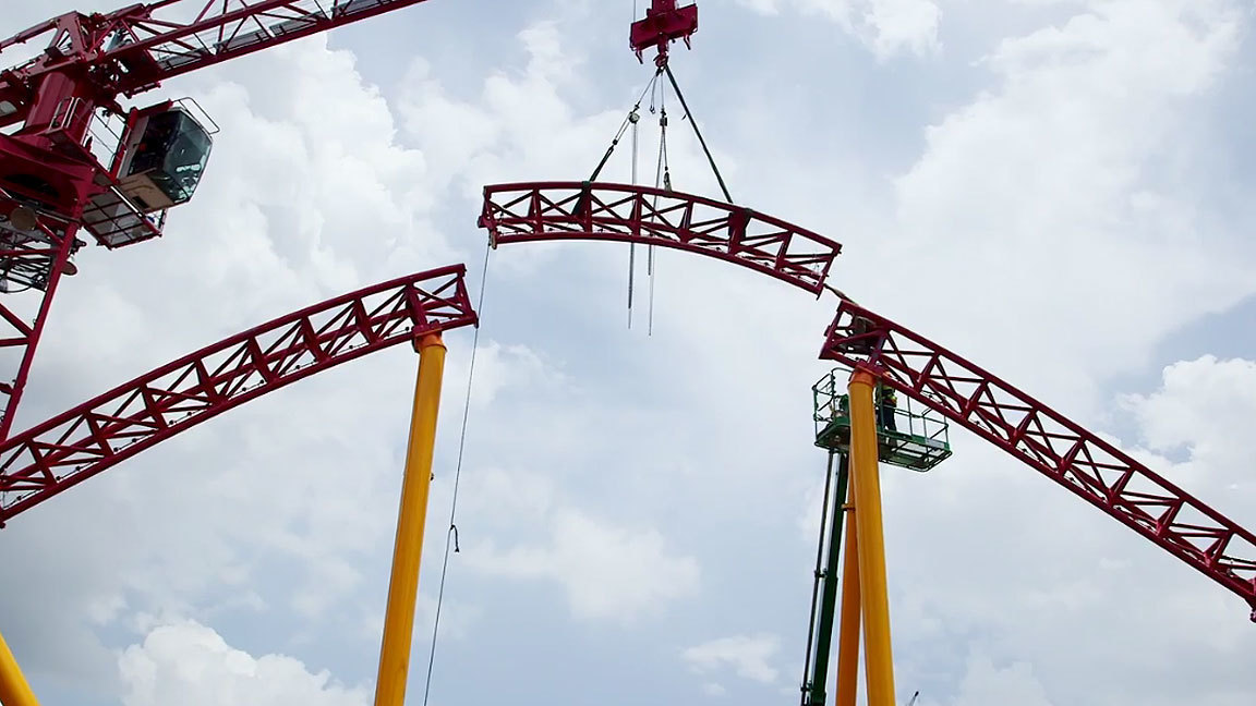 Disney completes track for Slinky Dog Dash at Toy Story Land  Orlando Sentinel