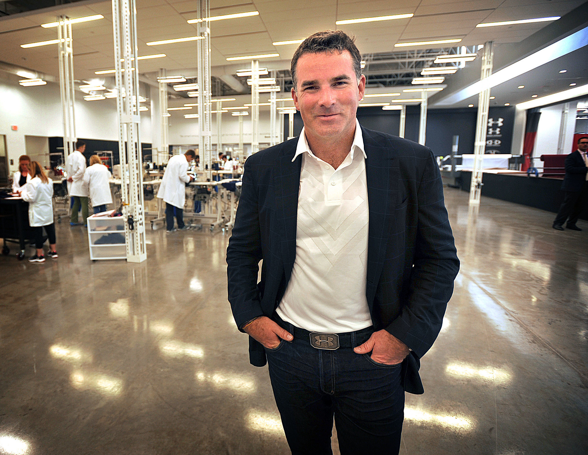 Why we dont hear Under Armours Kevin Plank say Nike