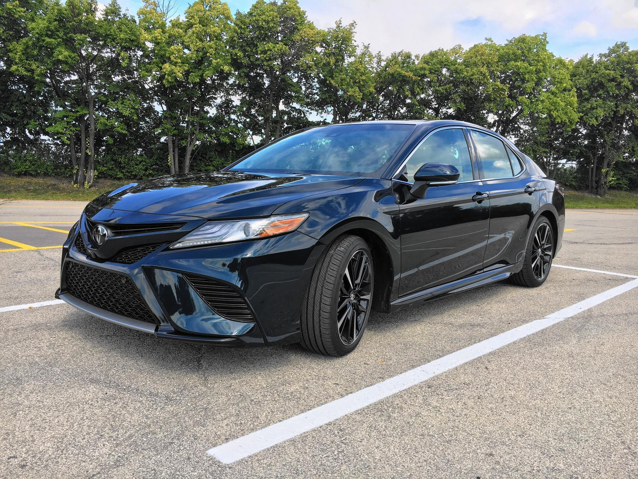all new camry type v 2018 australia lights action toyota is anything but boring chicago tribune