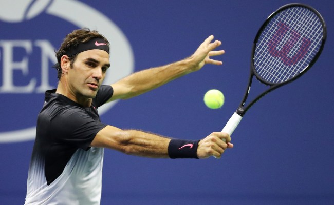 Roger Federer Looks Back At Best In Straight Sets Win Over