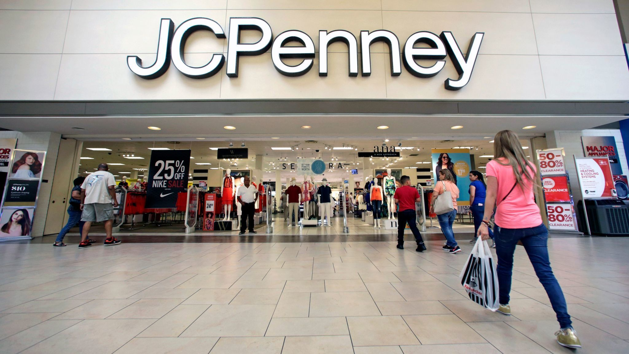 JC Penney to hire 40000 for holidays the same as last