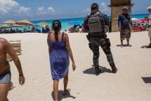 Mexico Cancun Tourists Crime
