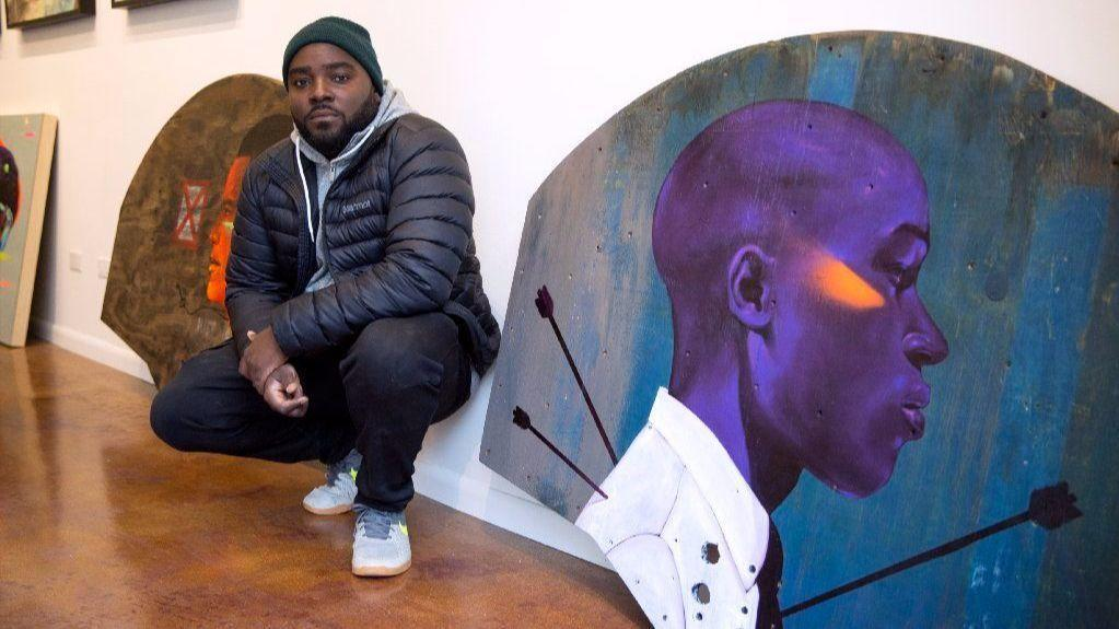 Max Sansings art taps a potent memory from his South Side
