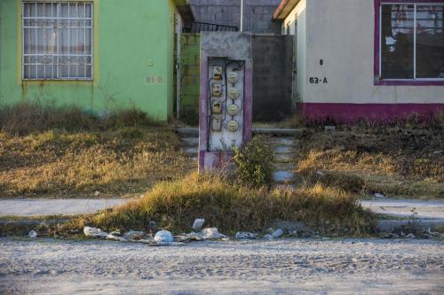 small resolution of  dusty street in huehuetoca mexico many homes in the santa teresa development are abandoned there has been no running water for more than one year