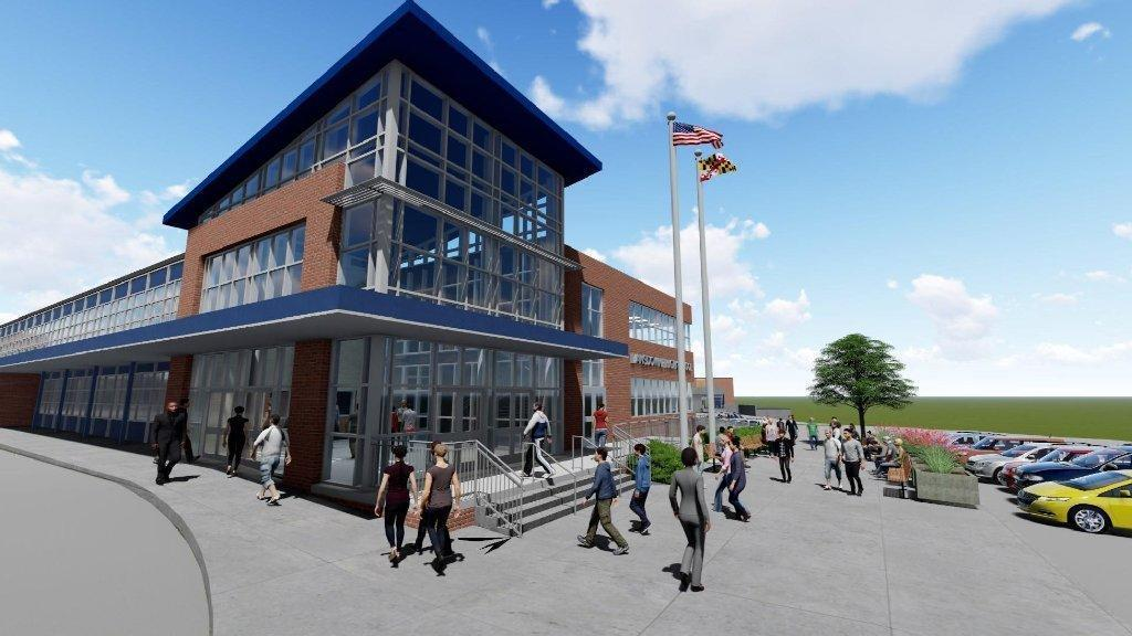 Controversy simmers as Lansdowne High renovation design is debated  Baltimore Sun