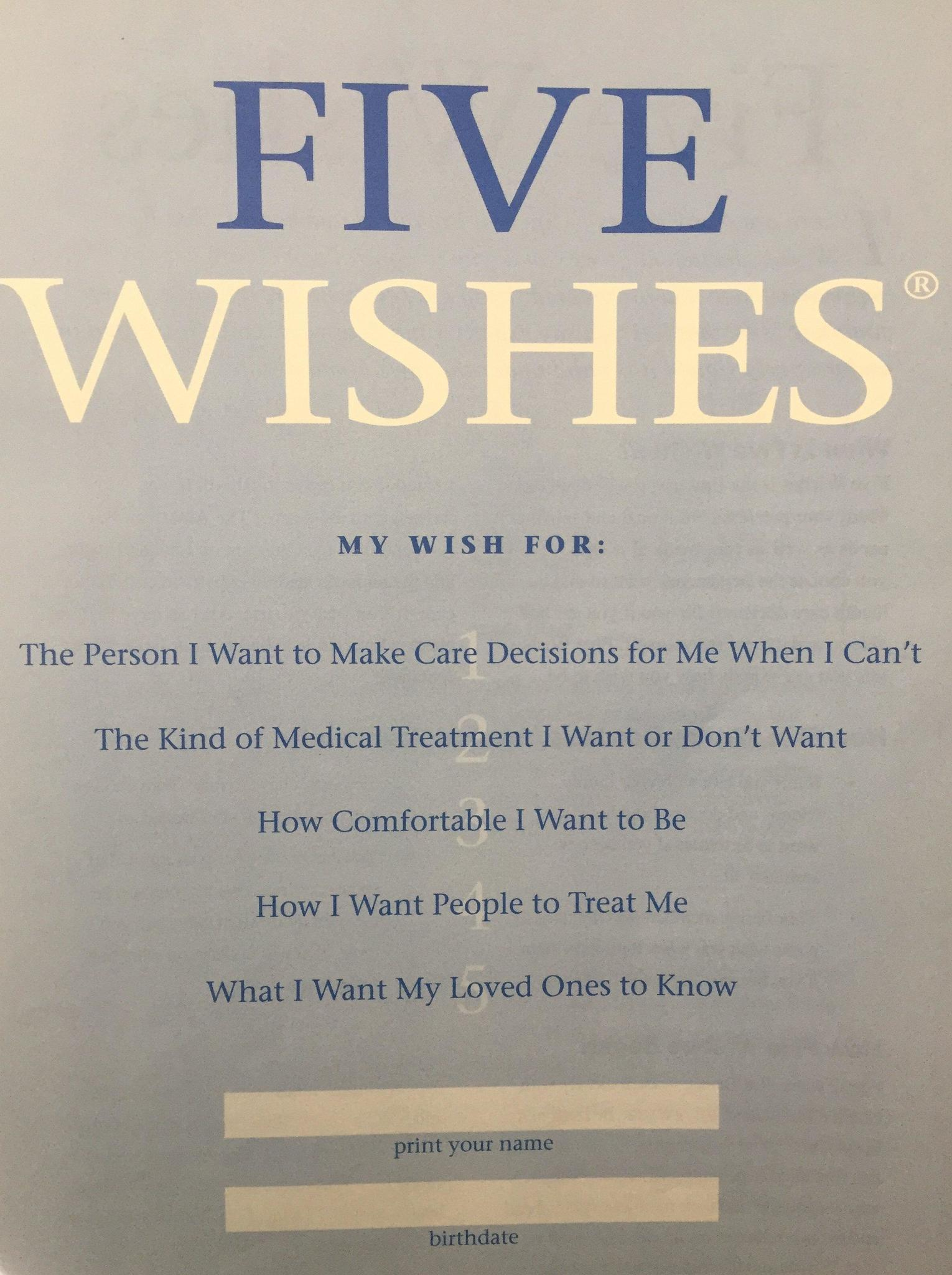 Clarkson Its Easy To Set Up Advance Care Directives Do It The Doings Hinsdale
