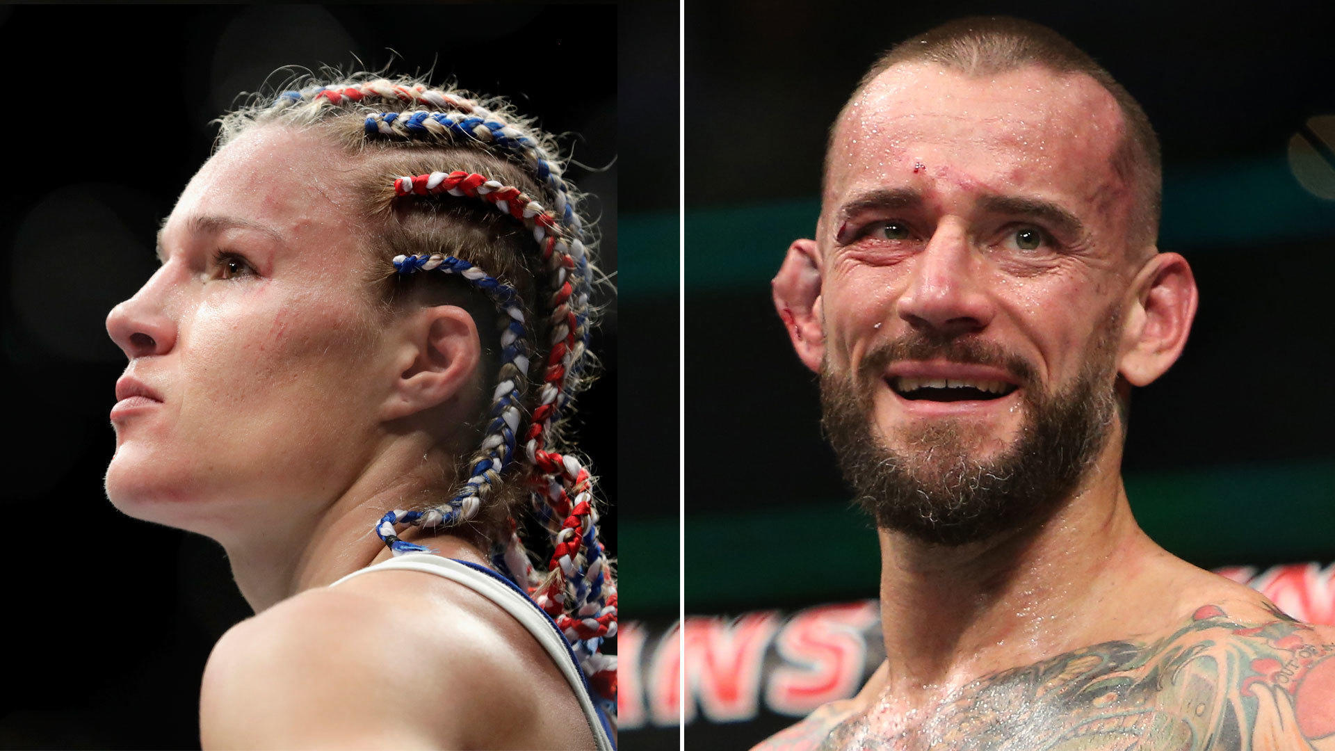 Chicagos CM Punk Felice Herrig Get The UFC Fights They