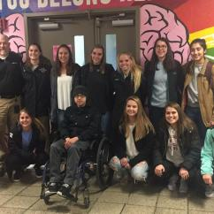 Soccer Team Chairs Big Man Leather Lift Chair Parkland Donates Wheelchair To Allentown