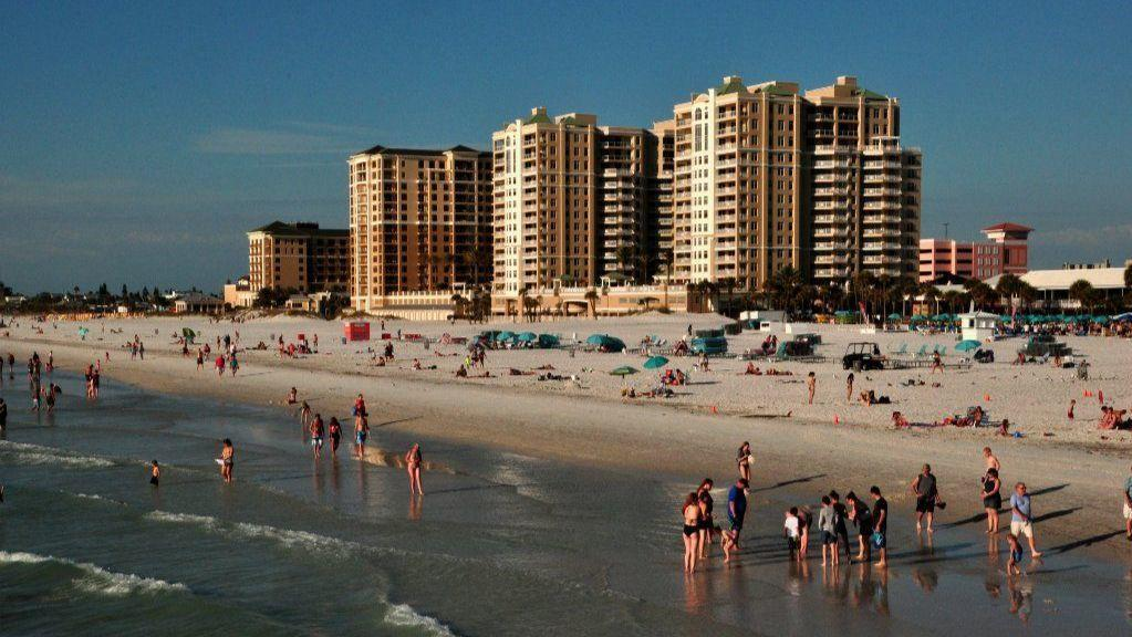 Floridas Pinellas County beaches offer stretch of sand
