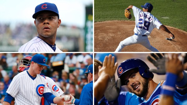 2018 Cubs roster Locks good bets and long shots