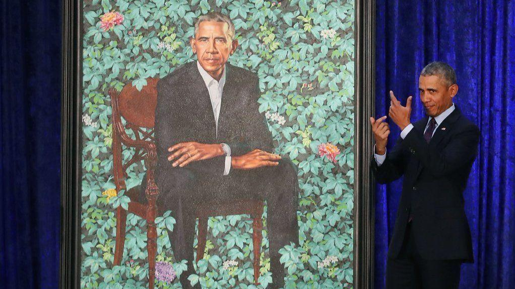 Why Is Barack Obamas Portrait Set At Wrigley Field Some