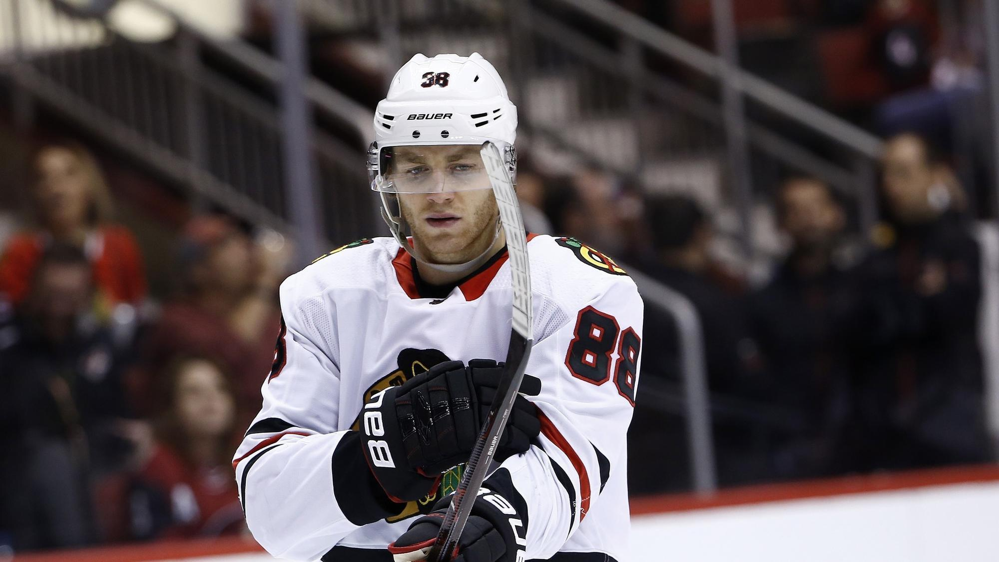 Patrick Kane leading by example on the ice for Blackhawks