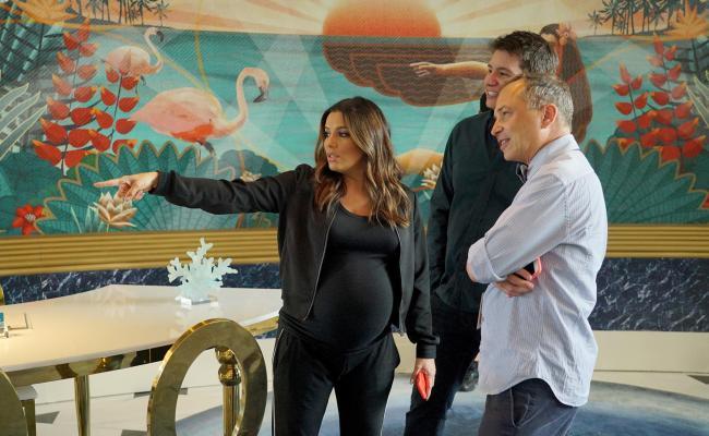 Eva Longoria Dishes About Abc Pilot Grand Hotel Filmed