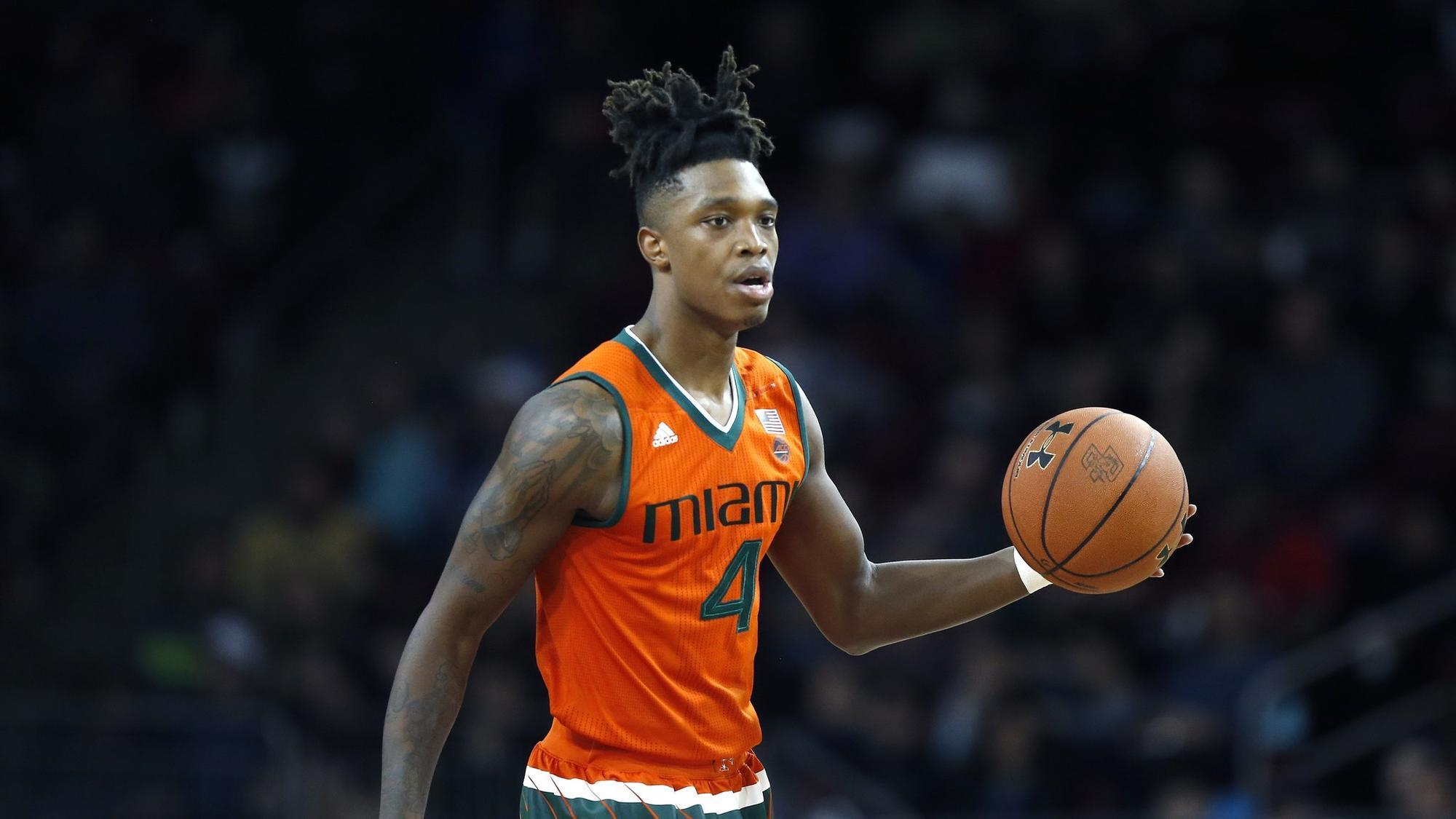 After draft decision UMs Lonnie Walker IV and the Hurricanes mens basketball team begin