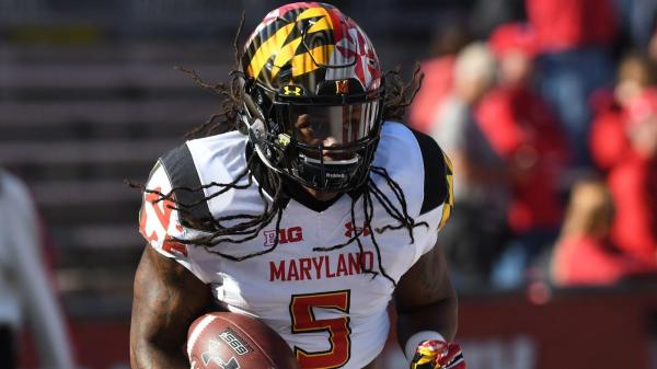 In Crowded Maryland Backfield Running Anthony