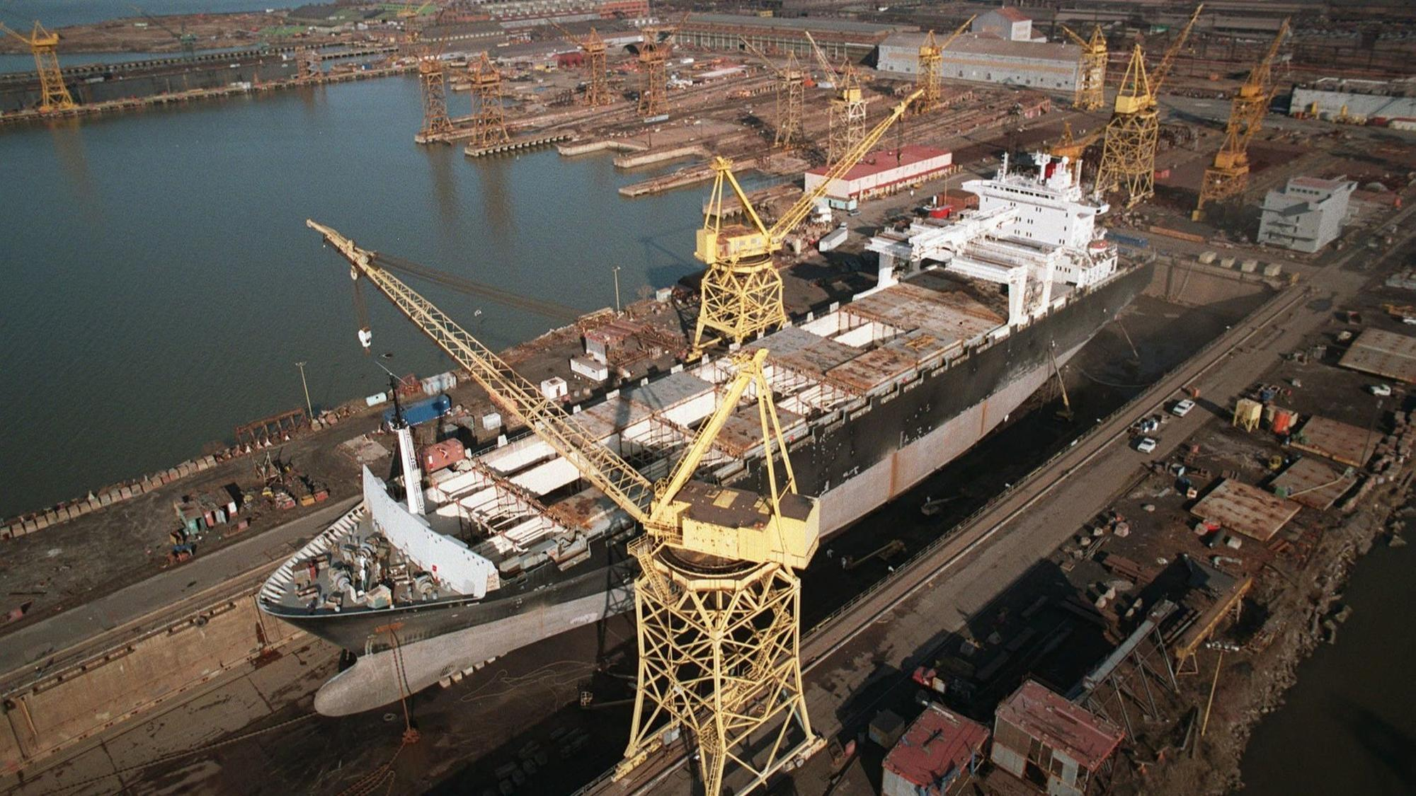 Tradepoint Atlantic acquires Sparrows Point shipyard for