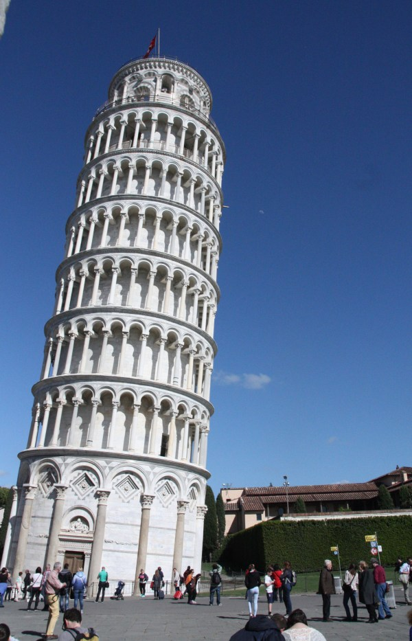 Leaning Tower Of Pisa Withstood Earthquakes