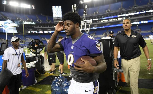 Ravens Rookie Lamar Jackson Enters Nfl With A Lifelong