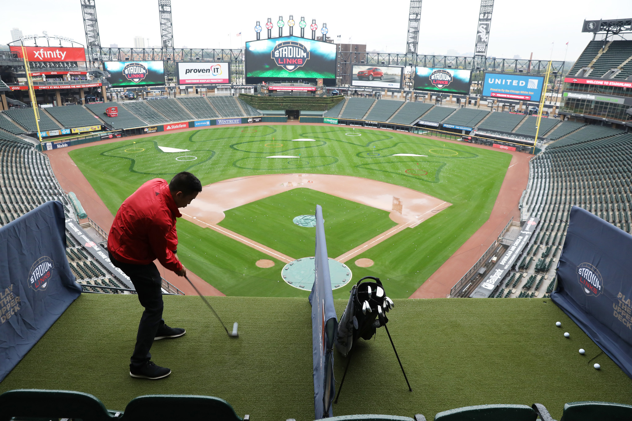 Golf at Guaranteed Rate Field  Chicago Tribune