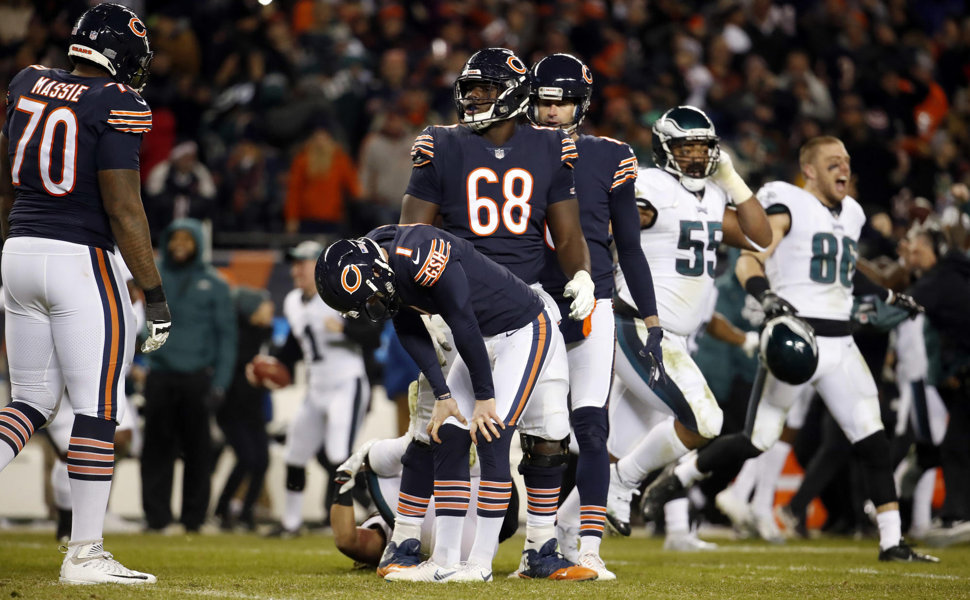 Sympathy for Cody Parkey  and the double doink
