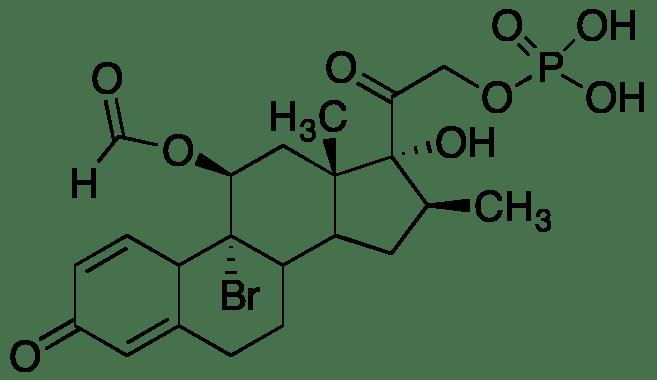 Betamethasone 11-Aldehyde 9-Bromo-21-(dihydrogenphosphate