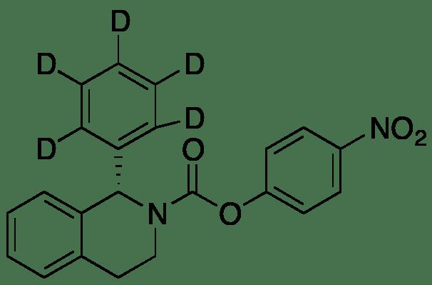 (S)-4-Nitrophenyl 1-Phenyl-d5-3,4-dihydroisoquinoline-2(1H