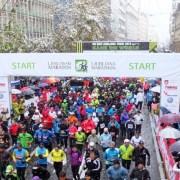 Start 17. Ljubljanskog (polu)maratona - preuzeto sa FB stranice Ljubljanskog maratona