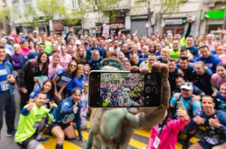 selfie trkaca na maratonu-2