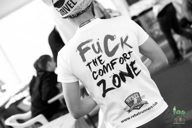 fuck the comfort zone