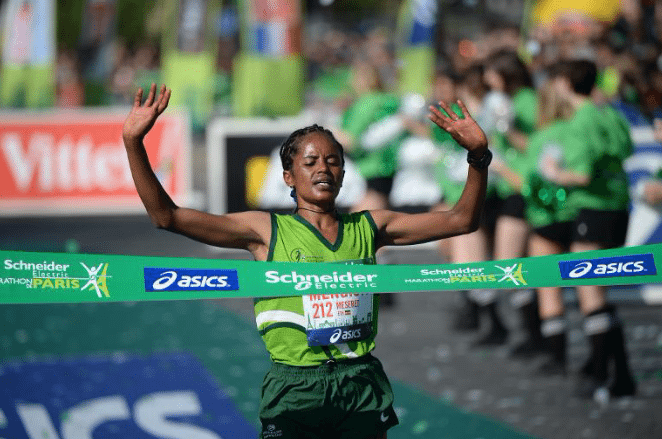 pariski maraton pobednica